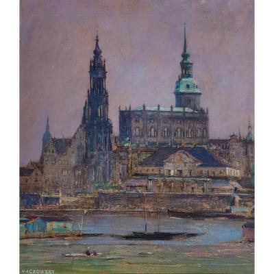 Siegfried Mackowsky (1878-1941), Cathedral Of The Holy Trinity Of Dresden
