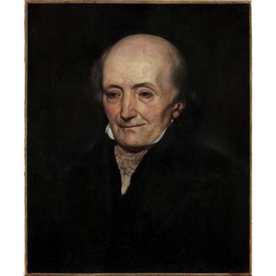 Charles-Emile Callande de Champmartin (1797-1883), Portrait présumé d'Esprit Requien