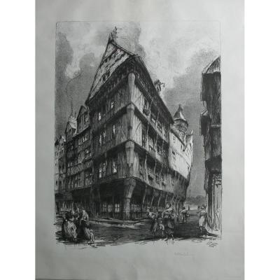 Hippolyte MADELAINE (1871-1966), Ecole De Rouen