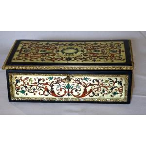 Box In Boulle Marquetry, Nineteenth Century