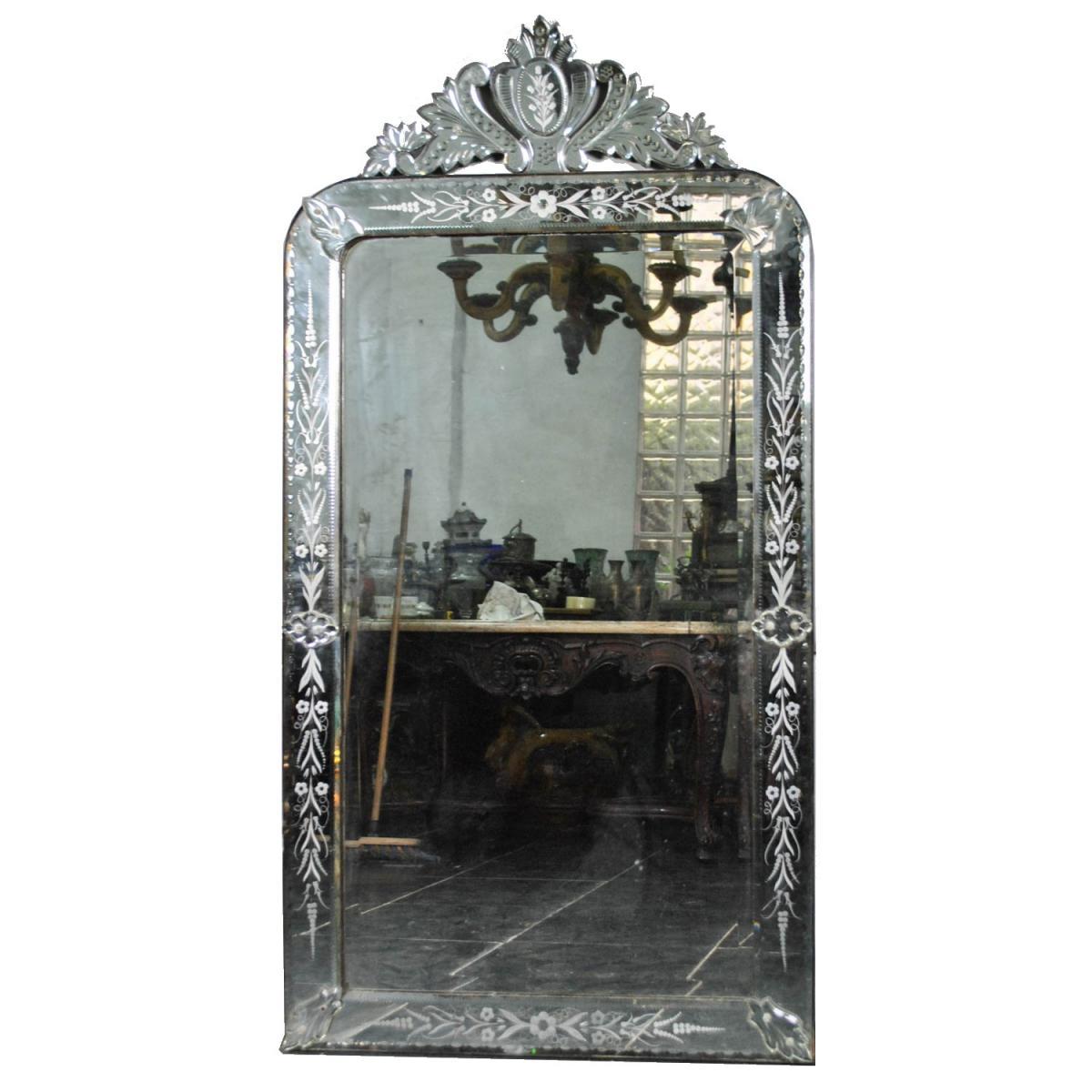 Miroir Venise, début XXème siècle