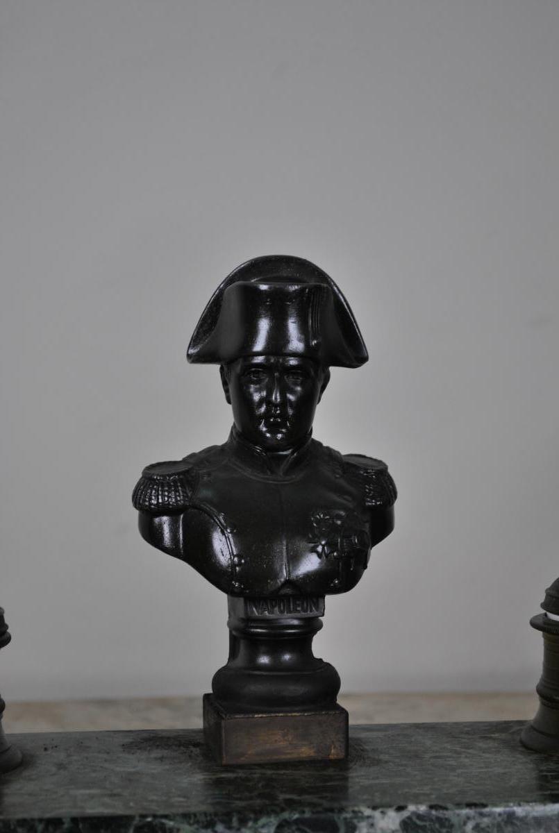 Encrier Napoléon en marbre, XIXème-photo-2