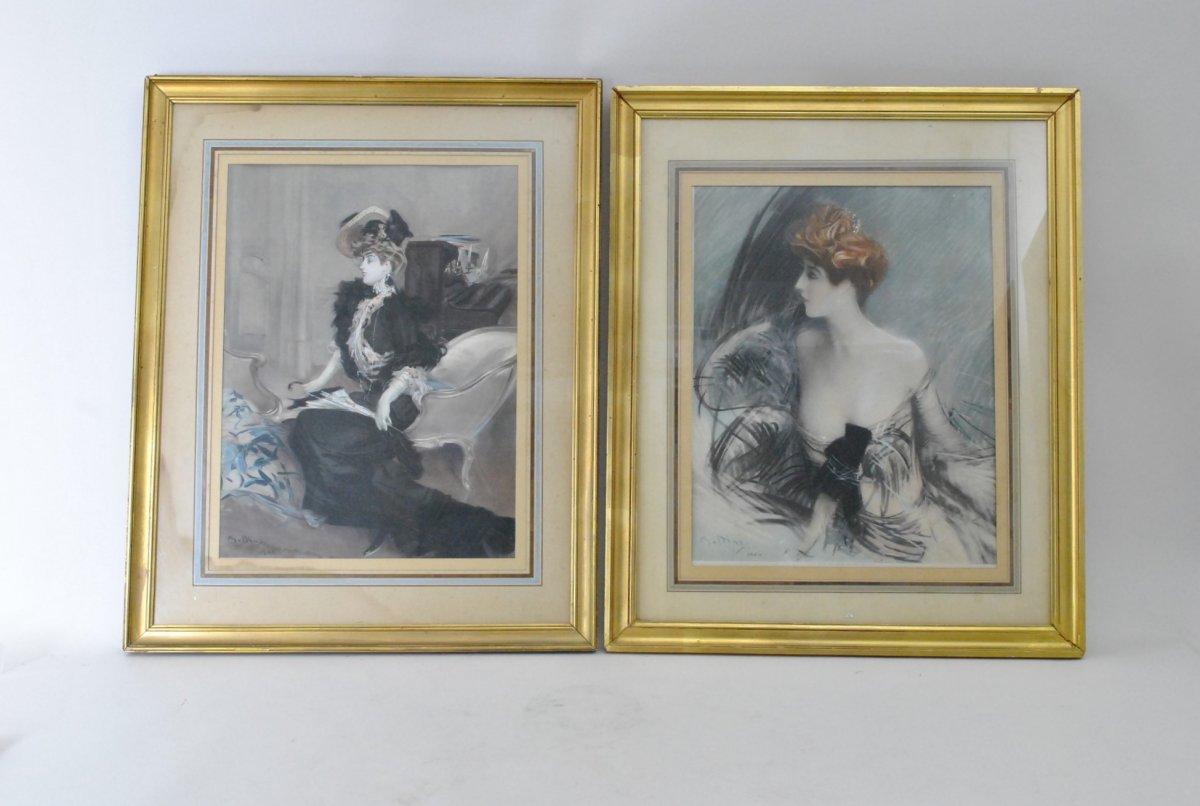 Boldini, Marthe De Florian, Engravings, Circa 1901