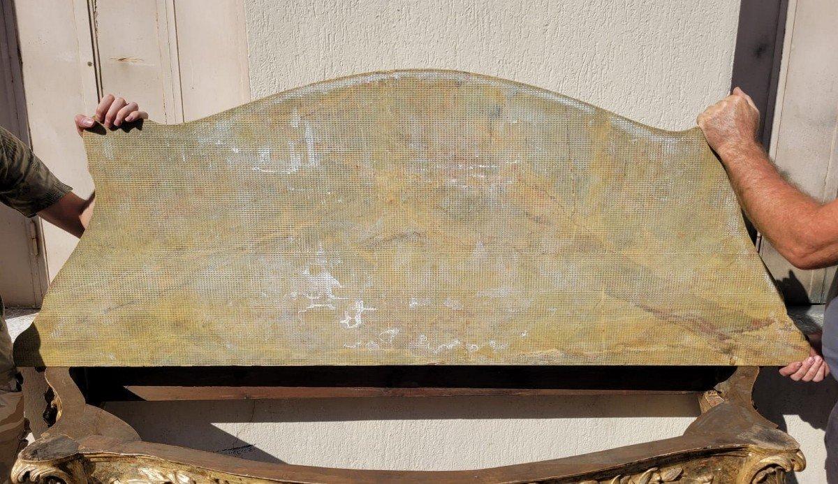 Valerian Rybar, Console En Bois à la Mecca, XXème Siècle-photo-6