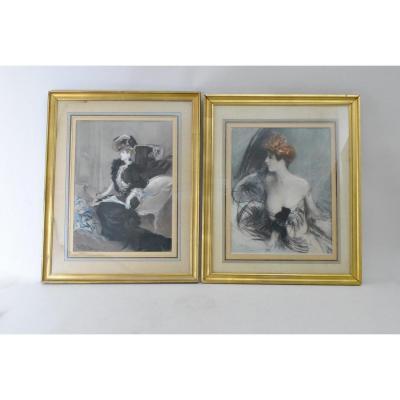 Boldini, Marthe De Florian, Gravures, Circa 1901