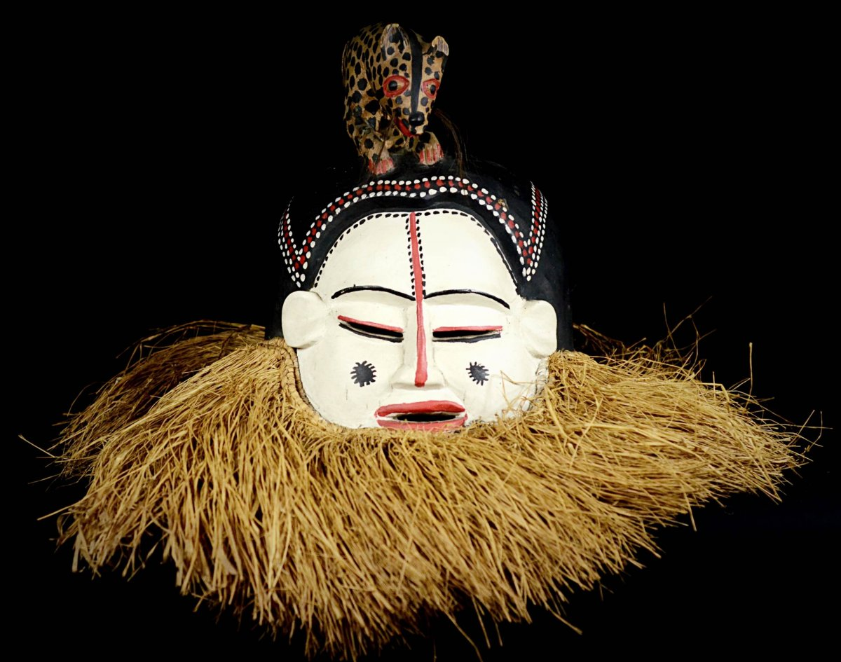 Masque Cimièr Holo Ngoni De Circumcision - R.d.c.