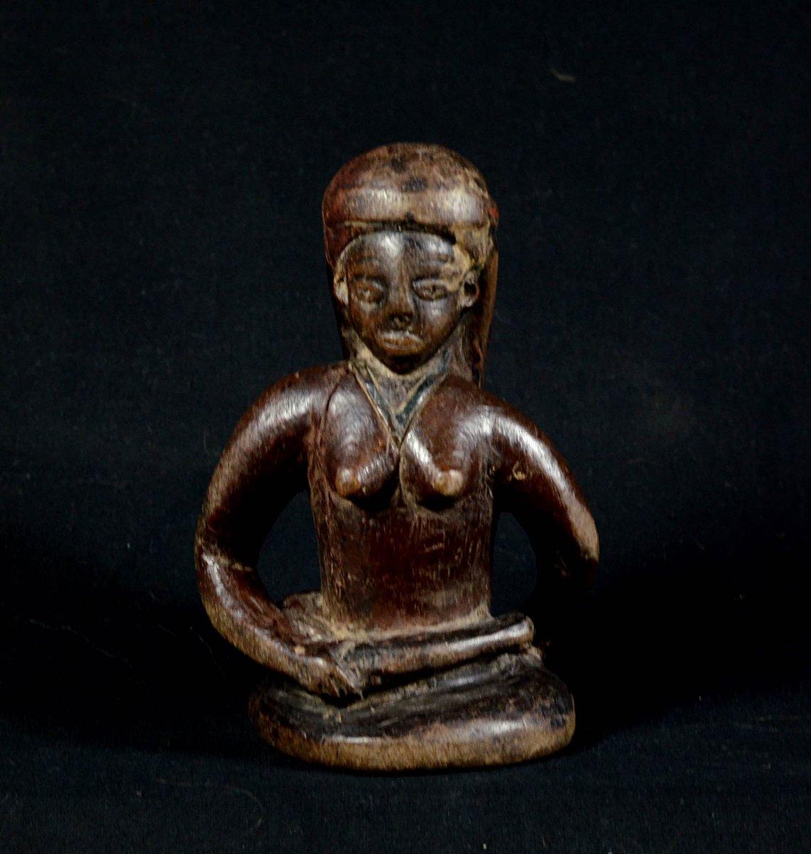 Statue Assize Chokwe - Angola