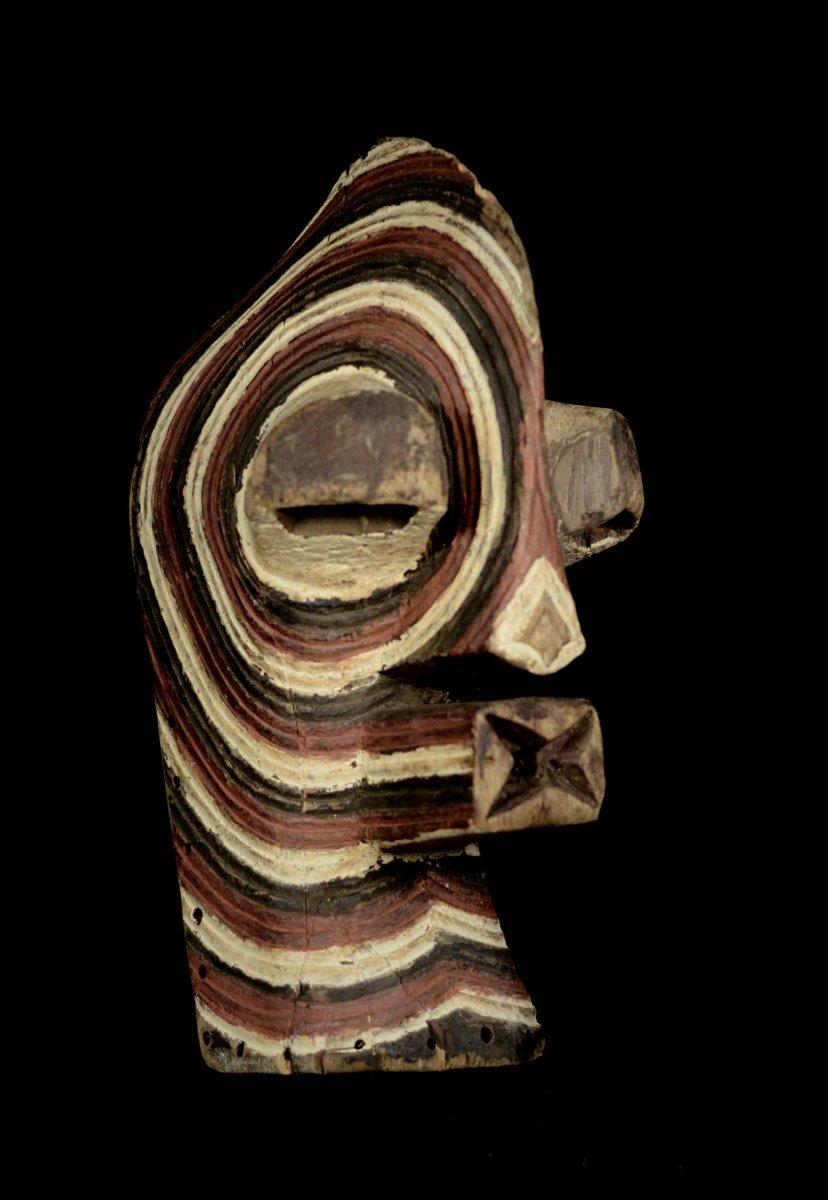 Masque Songye Kifwebe. R.d.c.