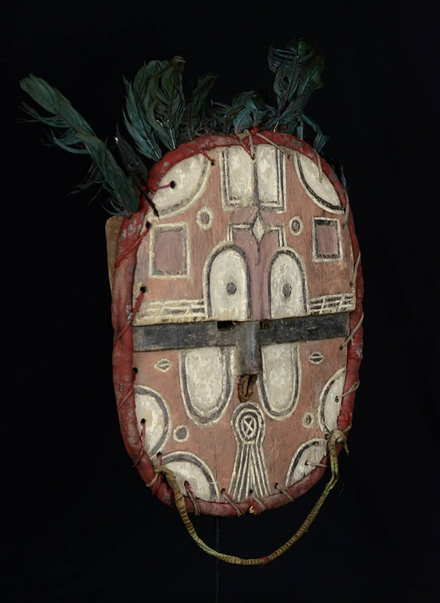 Masque TÉkÉ Kidumu Du Groupe Tsaayi - R.d.c.