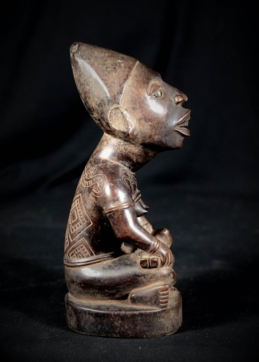 Great Phemba Mayombé Maternity Figure - The Democratic Republic Of The Congo