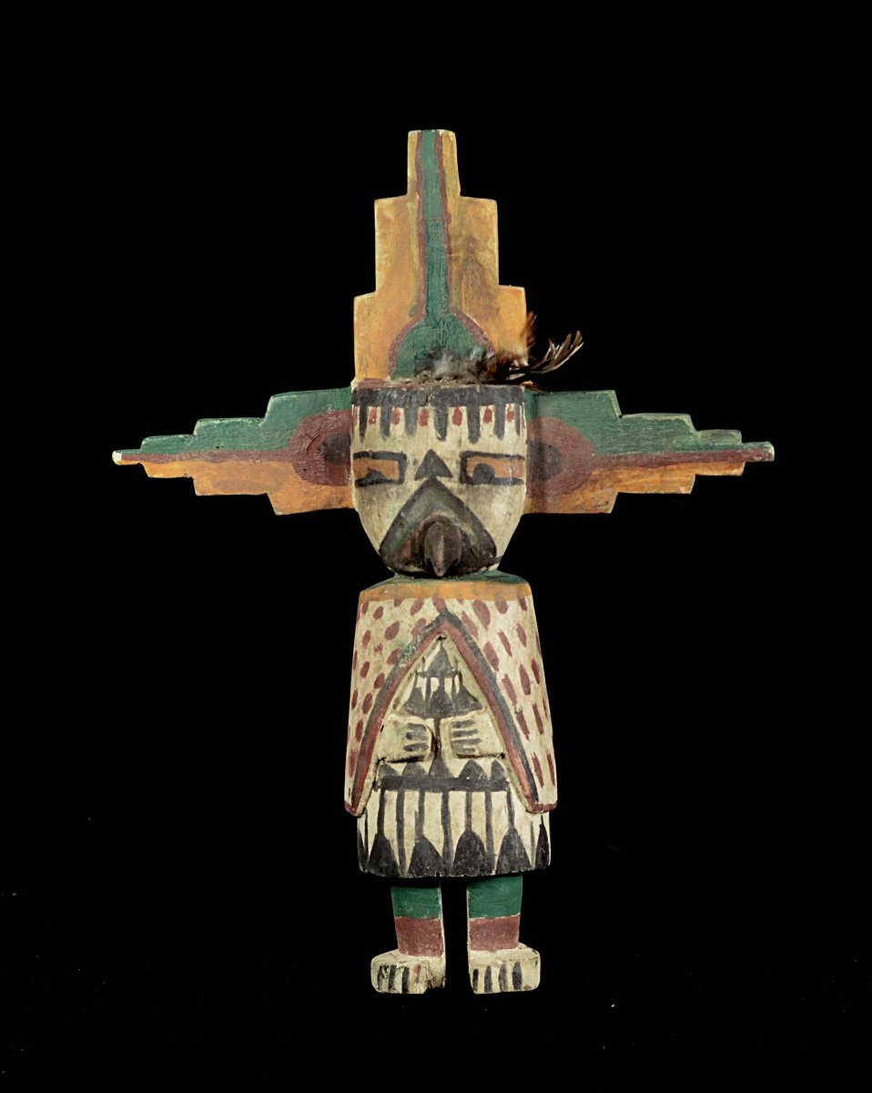 Beau Kashina Des Indiens Hopi - Arizona - Usa