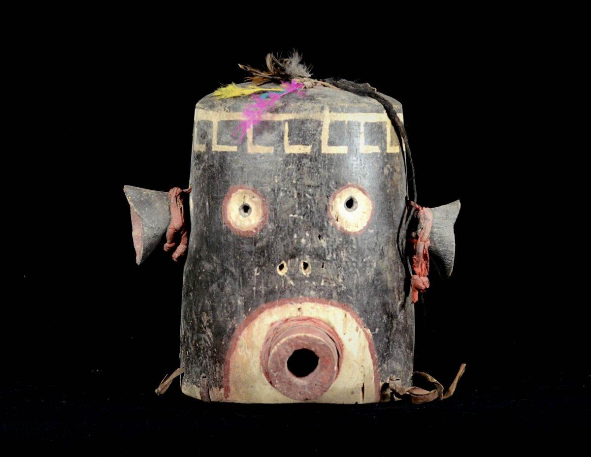Masque Captivant Des Indiens Hopi - Arizona - Usa