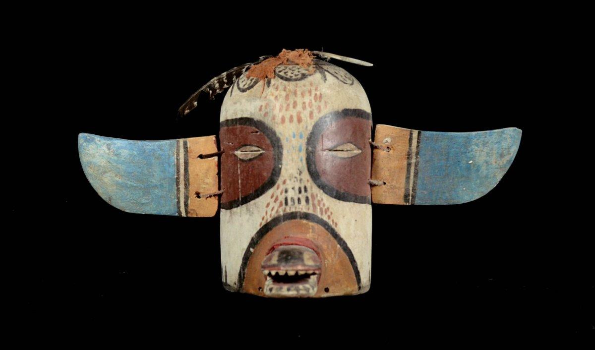 Beau Masque Des Indiens Hopi - Arizona - Usa