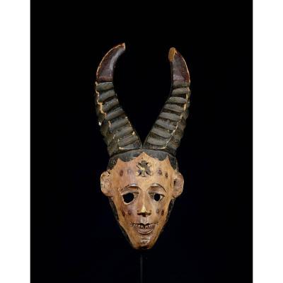 Masque Igbo Ou Ibo Avec Des Cornes - Nigeria