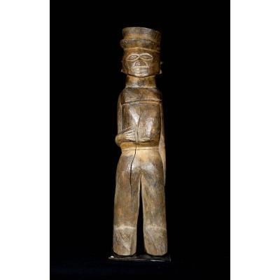 Statue Cubiste Lobi Colon Bateba Phuwe - Burkina Faso