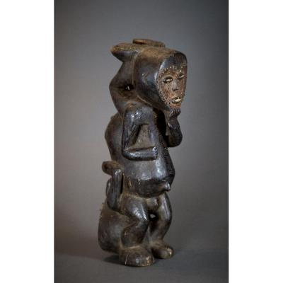 Mambila Janus Figure - D.r.c.