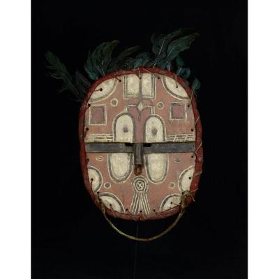 TekÉ Kidumu Mask From Tsaayi Group - The Democratic Republic Of Congo