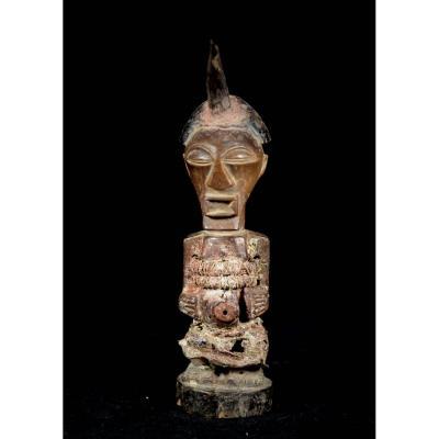 Elegant Songye Nkisi Figure - The Democratic Republic Of The Congo