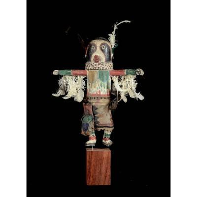 Kachina Doll With Wings - Hopi - Arizona - Usa
