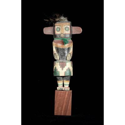 Kashina Hopi Indians With Big Ears - Arizona - Usa