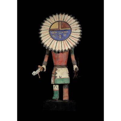 Kashina Of The Hopi Indians With A Big Round Face - Arizona - Usa