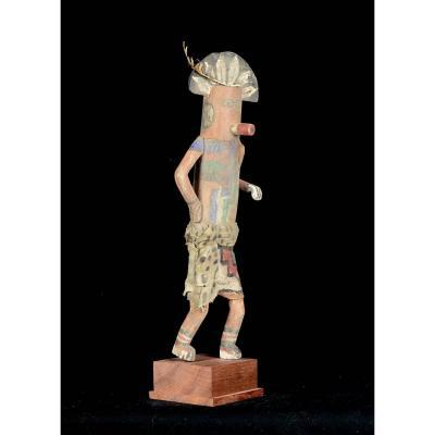 Tall Kashina From The Hopi Indians - Arizona - Usa