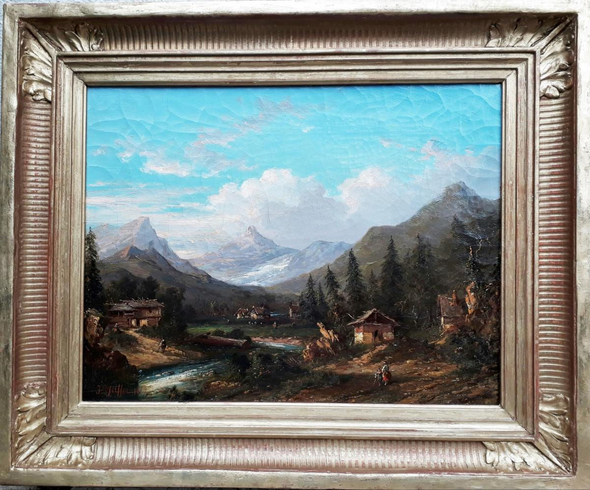 Josef PFEIFFER - Paysage De Montagne