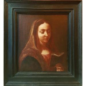 Giovanni Battista PIAZZETTA (Atelier de) - La Vierge au livre