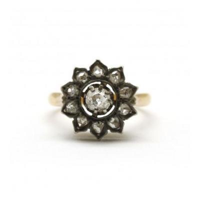 Marguerite - Or, Diamants