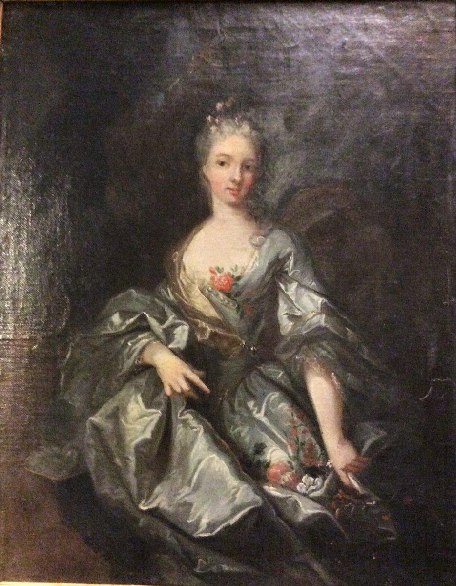 Jacob Van Schupp (follower) - Woman In Flora - Around 1730