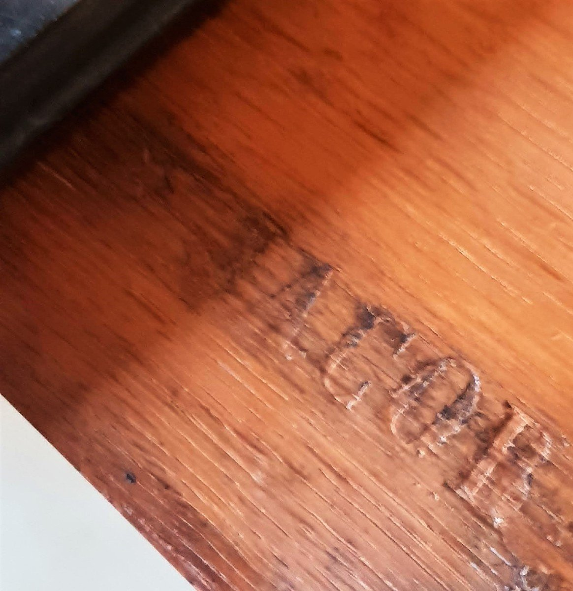 Stamped Jacob - Beautiful And Rare Console In Rosewood - Charles X Period-photo-5