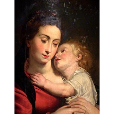 Ecole Anversoise Du XVIIème - Jacob Jordaens Collabore Avec Rubens