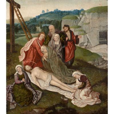 Peinture Renaissance. École Flamande Du XVIème Siècle.