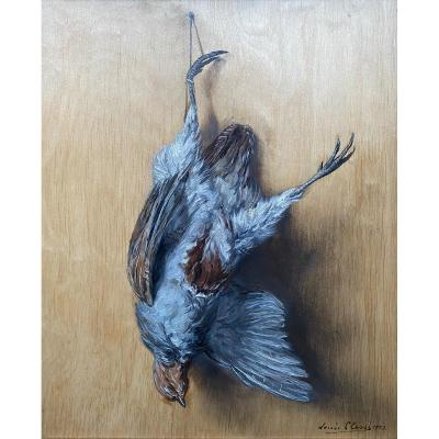 Trompe l'Oeil With A Partridge, Clesse Louis, Brussels 1889 - 1961