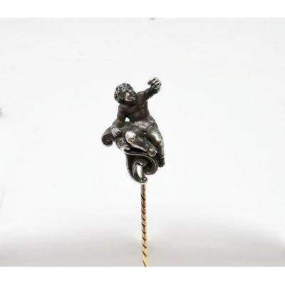 "Tie Pin ""putto"""