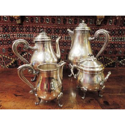 Silver Tea And Coffee Set Christofle