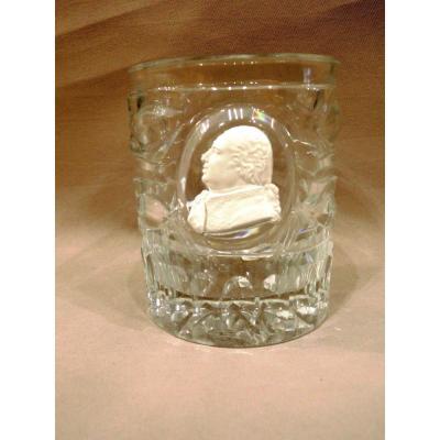 Cristallo Cerame Glass. Baccarat. Louis Philippe Period