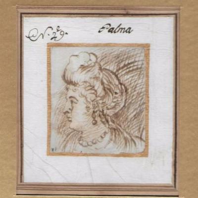 Palma Il Giovane - Adriana ètude