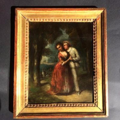 Attribuè a Antoine Watteau