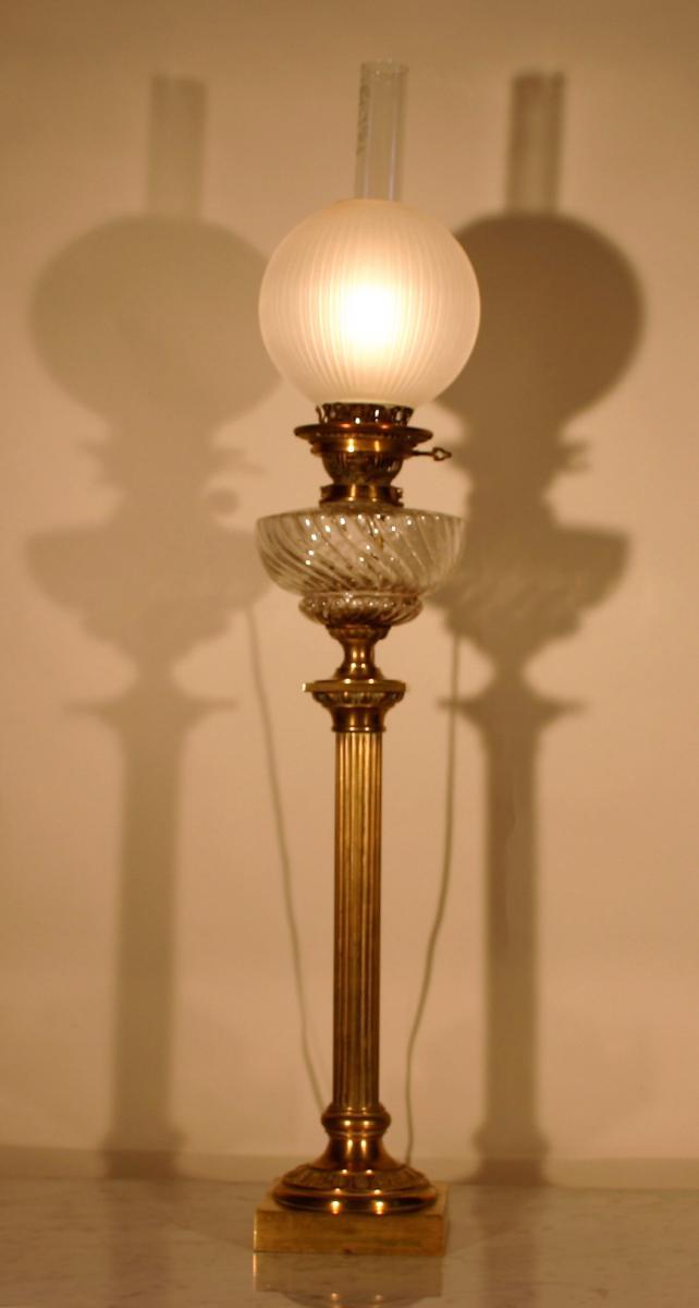 Lampe à Pétrole Montée En Lampe