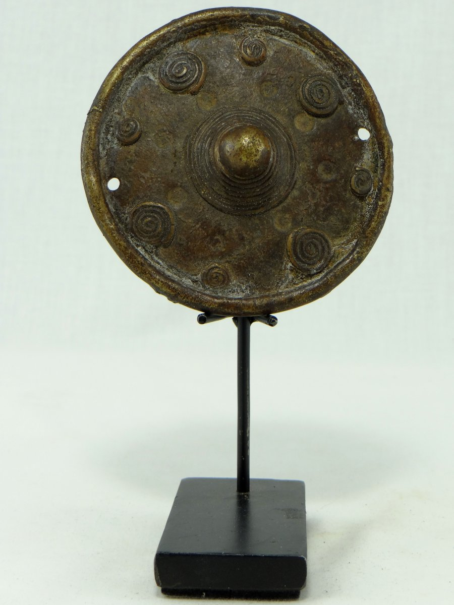 North Cameroon, Kirdi People, Beginning Of The XXth Century, Bronze Sail Weight.