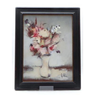 """Pierre Girre, Table Flowers Bouquet Years 1960/1970 """"lightness""""."""