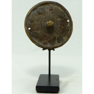 North Cameroon, Kirdi People, Beginning Of The XXth Century, Bronze Sail Weight.