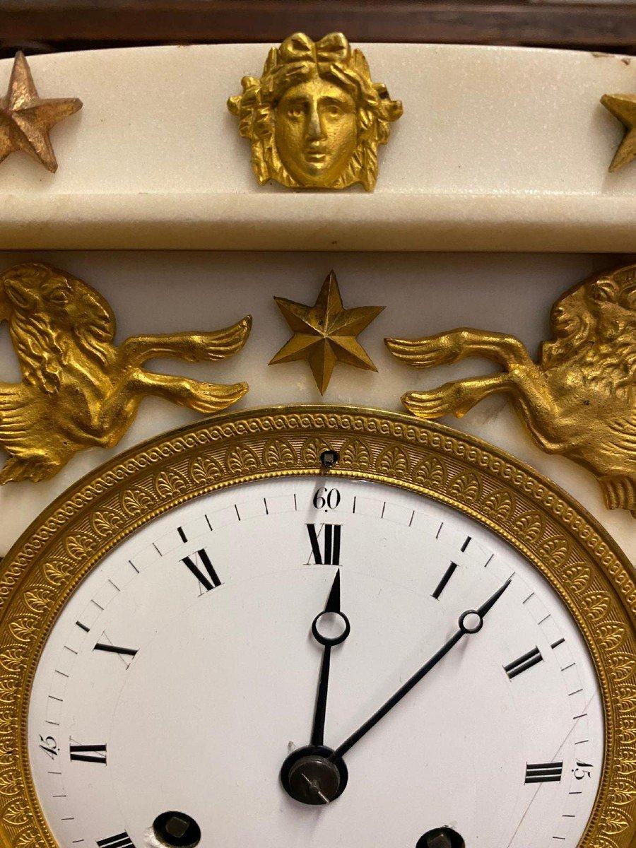 Pendule Empire Début XIXème - Roux a Paris-photo-5