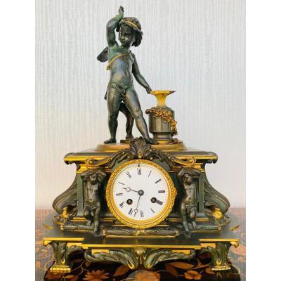 Pendule De Style Charles X XIXème