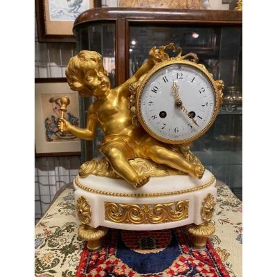 Louis XVI Pendule Antique