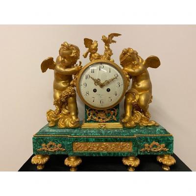 19th Century Cupid Clock