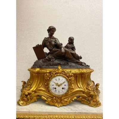 19th Century Clock Signed - Raingo FrÈres