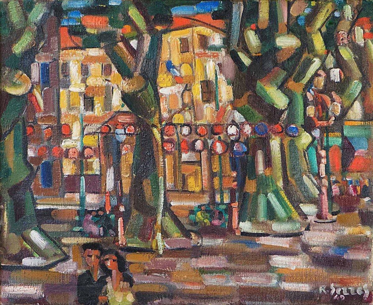 St Jean-de-luz 1949- Raoul Serres (1881-1971)