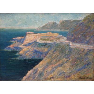 E.Léonetti .Le fort de Mers el-Kébir. Algérie